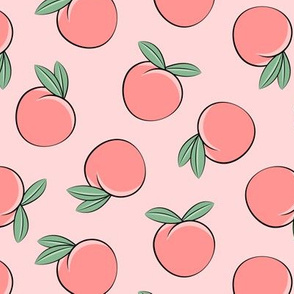 peaches - pink - LAD19
