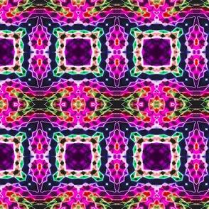 Woven Purple Blocks