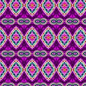 Purple Mini Woven Diamonds