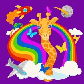 Giraffes are Outta' This World
