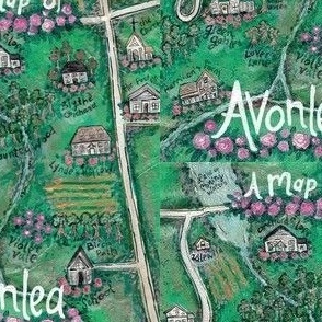 Map of Avonlea
