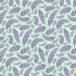 Plumes (mint)(sm)