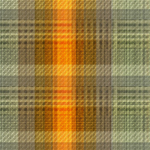 hunt-orange-twill-plaid