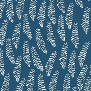 Forest Fern_Enamel and Off White