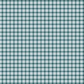 The Green the Grey and the Black: Mini Plaid