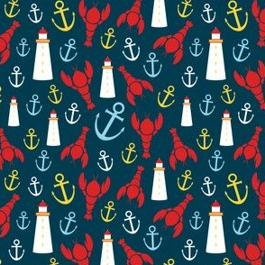 Maritime Icons Ditsy