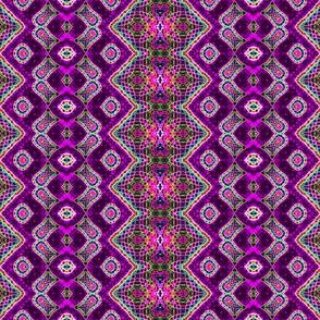 Random Purple Zigzag Weave