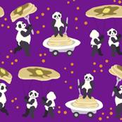 Purple Panda Pancake Parade