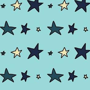 New Killer Star (bright blue)