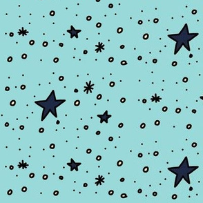 Stars Are Out Tonight (bright blue)