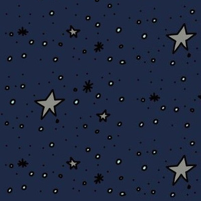 Stars are Out Tonight (blue jean)