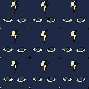Electric Eye (blue jean)