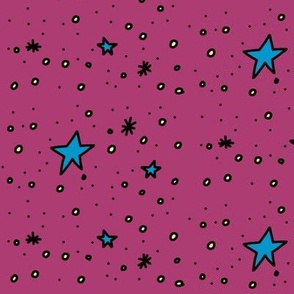 Stars Are Out Tonight (purple)