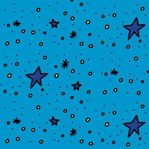 Stars are Out Tonight (blue)