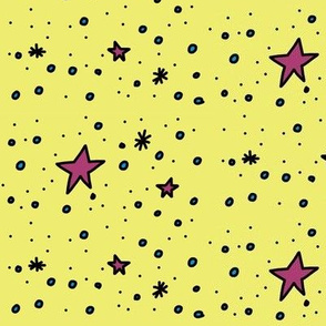 Stars are Out Tonight (yellow)