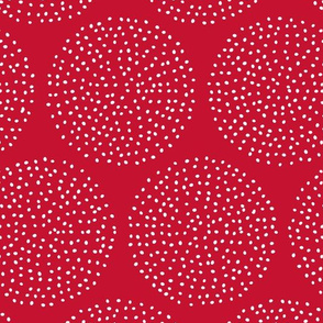Dotty Circles (Red)