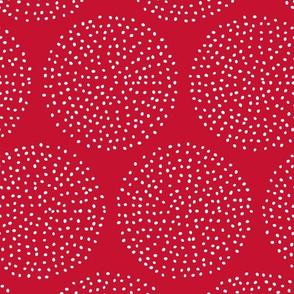 Dotty Circles (Red)