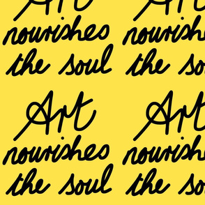 Art Nourishes the Soul - banana (large)