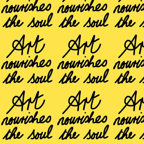 Art Nourishes the Soul - banana
