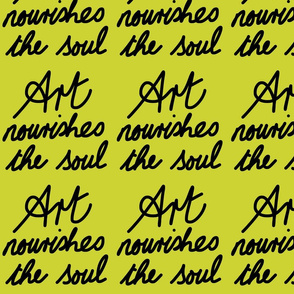 Art Nourishes the Soul - avocado