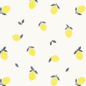 Lemons Ivory - Texture