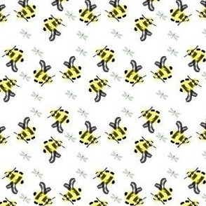 Bumble Bees and Dragonflies