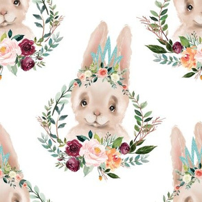 paprika floral silly rabbit 6""