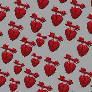 Macarthers Heart Grey