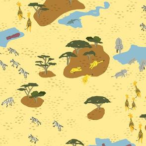 Aerial Safari