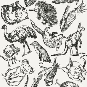 Australian Animals Pattern
