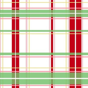 Kringle Tartan strawberry