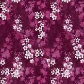 Cherry blossom in deep pink