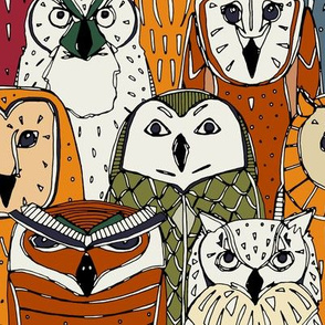 owls rust