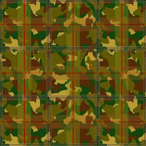 Manleigh Camouflage Tartan Medium