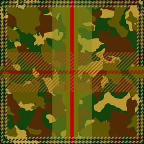 Manleigh Camouflage Tartan Large