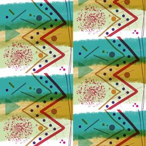 Microplastics - art awareness (half drop)