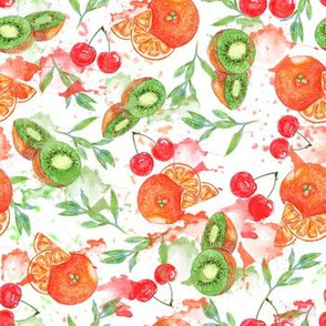 orange_ cherries _ kiwi