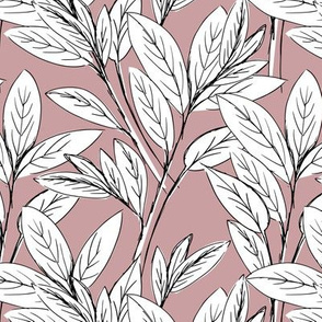 Lush leaves autumn tree leaf garden vibes and fall dreams white mauve