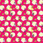 BBwhite Roses pink