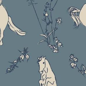 horse toile
