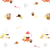 Coffee spoonflower