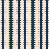 Vertical Gem Stripe - Inverse