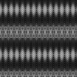 Black and White Snakeskin Texture