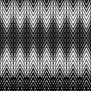 White and Black Snakeskin Pattern