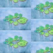 Overflowing Island