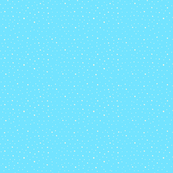 Sky blue snow storm polka dots