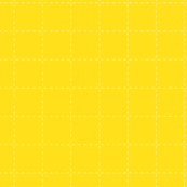 Canary yellow grid dashed grid