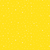 Canary yellow snow storm polka dots