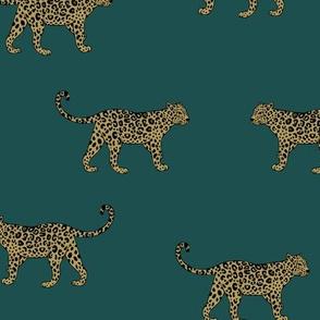Leopard Teal