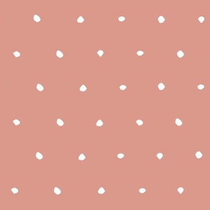 pink Dots Spots Dotty Spotty fabric gift wrap wrapping paper wallpaper